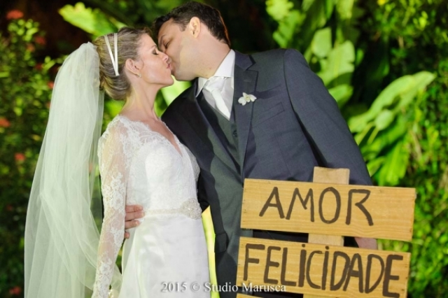 Vídeo e fotos do casamento de Marcela e Sergio